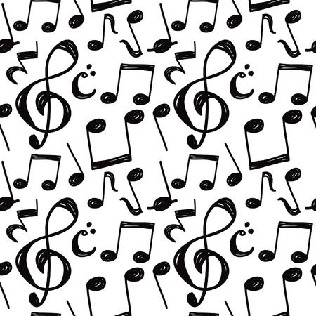 love music: Music note background