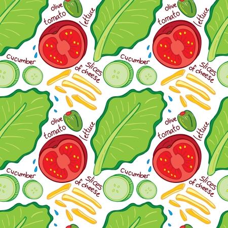 salad background