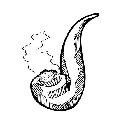 smoking pipe: sketchy smoking pipe