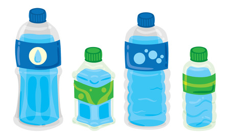 cartoon bottle Vector