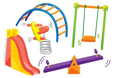 cartoon playground