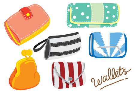 cartoon wallet Stock Vector - 24578601