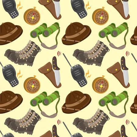 Safari pattern Vector