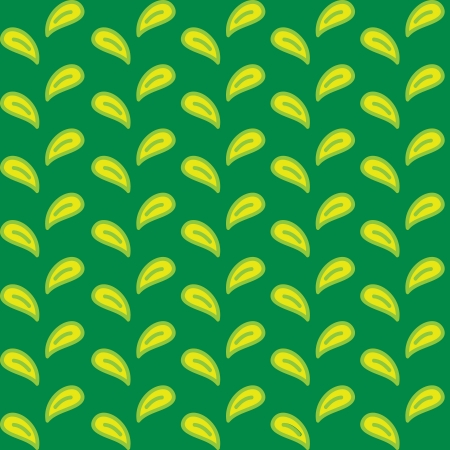 abstract backround: simple leaf pattern Illustration