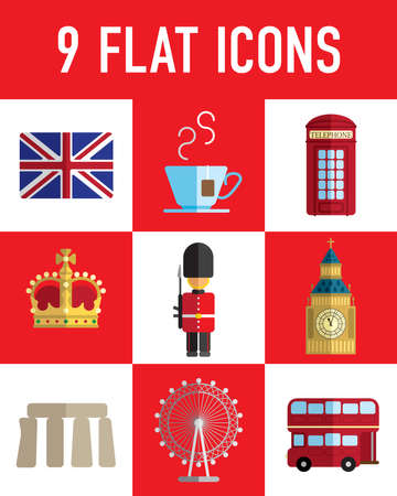 big eyes: England flat icon