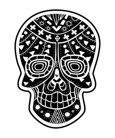 inverted: inverted sugar skull