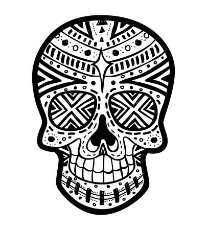 죽은: 설탕 두개골