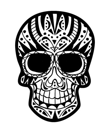sugar skull Stock Vector - 24579324