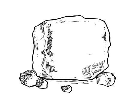 둥근 돌: 스케치 돌