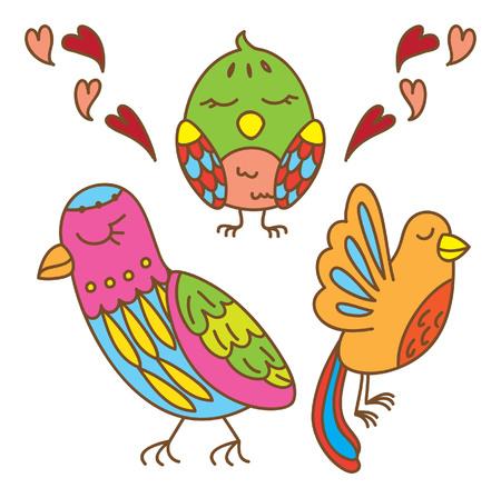 bird decorative element
