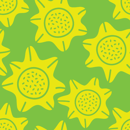 repeated: Floral seamless pattern