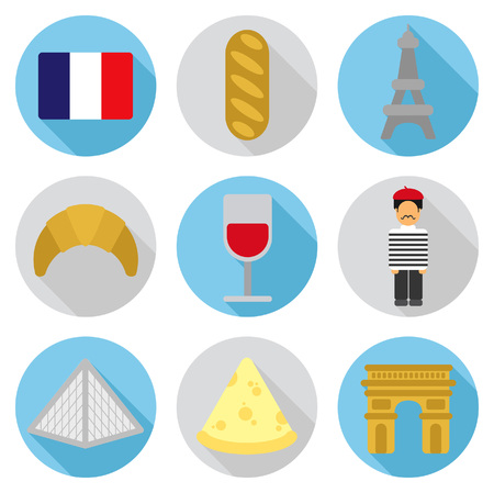 France flat icon