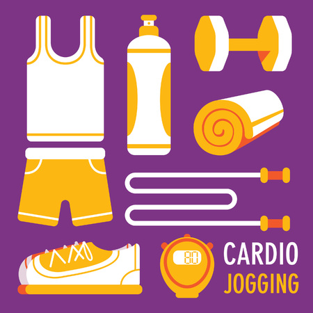 Fitness or jogging equipment.