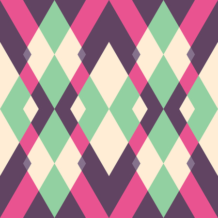 tile pattern: abstract geometric background, suitable for fabric printing Illustration