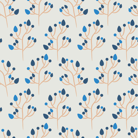 repeated: Floral seamless background