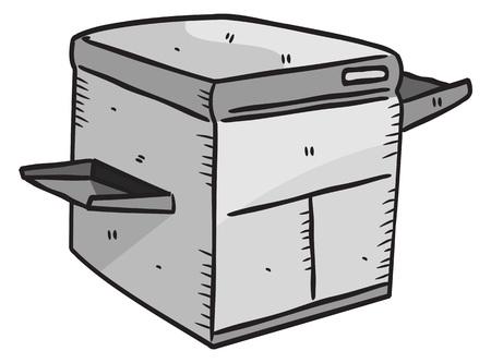 photocopy: photocopy machine doodle
