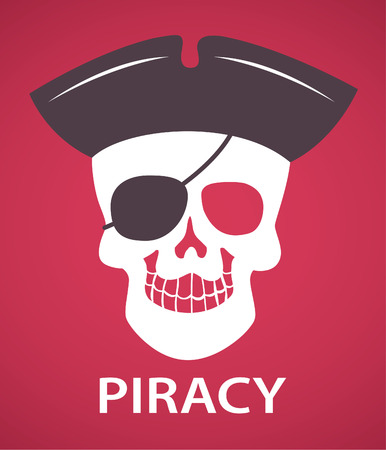 mal: Piracy skull symbol