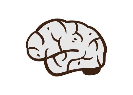cerveau doodle