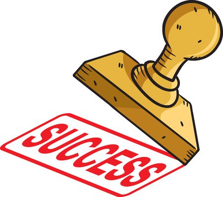Success stamp Illustration