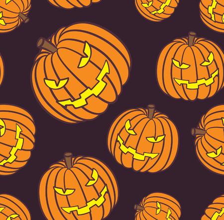 Halloween pumpkin background Imagens - 87987403
