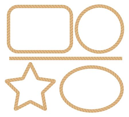 Seilrahmen. Standard-Bild - 85053359