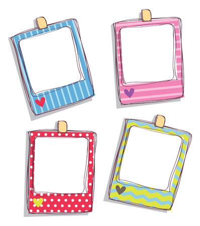 Set of cute frame. Imagens - 85877610