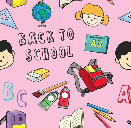 Back to school background. Imagens - 85877617