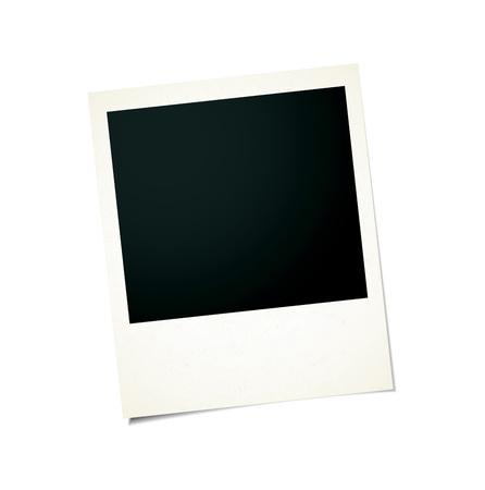 Vintage photo frame Standard-Bild - 85053416