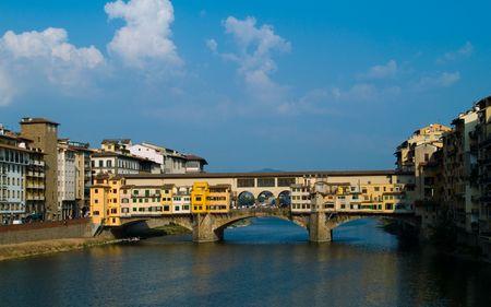 Bridge Ponte Vecchio in Florence.