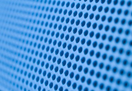 Futuristic blue hole grid making an abstract pattern. Stock Photo - 719411