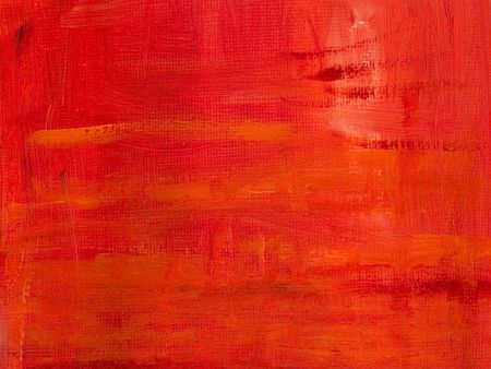 Abstract background - Red oil painted canvas  photo