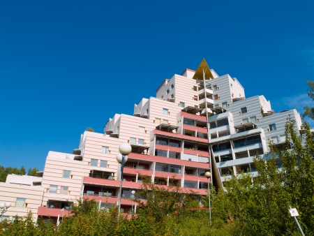 A modern apartment building in Helsinki, Finland Stock Photo - 1194640