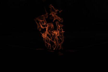eternal flame, flame in the dark, light in the dark