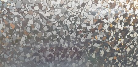 pattern on glass, a picture on the window in bright colors