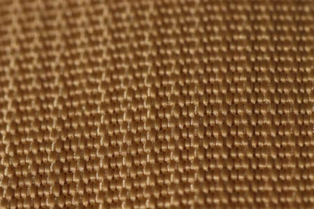 Tape sling color Coyote, close-up of the foot in crete, belt texture