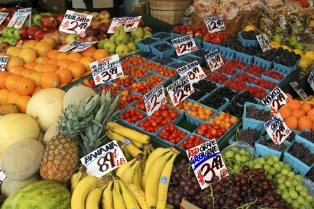 forsale: Fruits and Veggies at the Farmers Market
