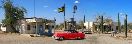 old service station: Gas Station Vintage
