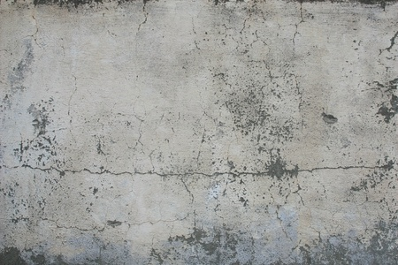 Concrete, weathered, worn, painted white  Landscape style  Great background or texture Imagens - 13305896