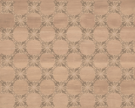 inlay: Wood tile, reddish gray brown coloring with darker butterfly checkerboard pattern inlay  Faux Wood Marquetry Great textured design for flooring, wallpaper  Nice classic look