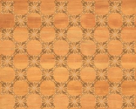 marquetry: Azulejo de madera, roble rojo con aspecto de tablero de ajedrez m�s oscura mariposa patr�n de incrustaciones de imitaci�n de madera Marqueter�a Gran dise�o para el suelo de textura, papel pintado cl�sico Nice look