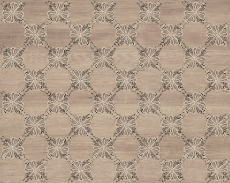 Wood tile, a gray red with darker butterfly checkerboard pattern inlay  Faux Wood Marquetry Great textured design for flooring, wallpaper  Nice classic look  photo