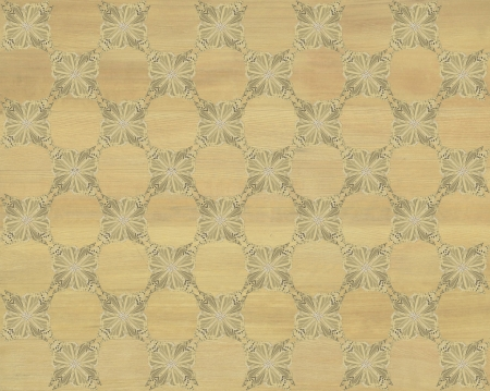 Wood tile, light greenish brown with darker butterfly checkerboard pattern inlay  Faux Wood Marquetry Great textured design for flooring, wallpaper  Nice classic look  photo