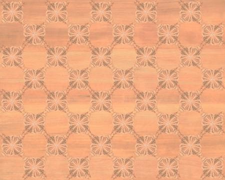 marquetry: Baldosa de madera, color madera roja de tablero de ajedrez con el m�s oscuro de la mariposa patr�n de incrustaciones de imitaci�n de madera Marqueter�a Gran dise�o de textura para el suelo, fondos de escritorio de aspecto cl�sico de Niza