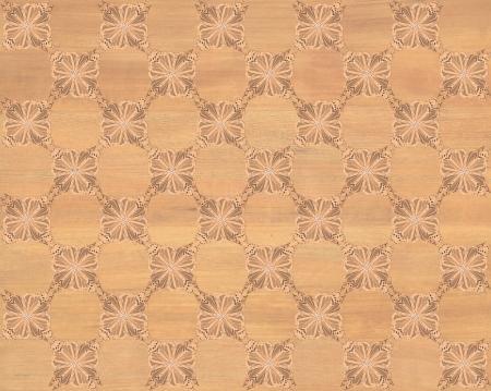 marqueteria: Baldosa de madera con tablero de ajedrez m�s oscura de la mariposa patr�n de incrustaciones de imitaci�n de madera Marqueter�a Gran dise�o de textura para el suelo, fondos de escritorio de aspecto cl�sico de Niza Foto de archivo
