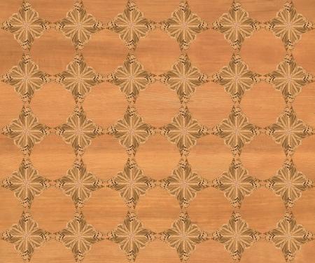 marqueteria: Baldosa de madera, color rubio oscuro con la mariposa m�s oscuro diamante patr�n de incrustaciones de imitaci�n de madera Marqueter�a Gran dise�o de textura para el suelo, fondos de escritorio de aspecto cl�sico de Niza