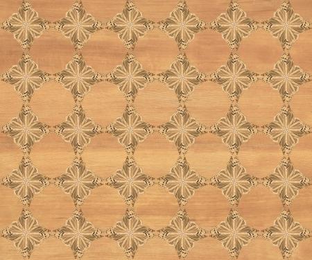 marquetry: Baldosa de madera, bonito marr�n medio con la mariposa m�s oscuro diamante patr�n de incrustaciones de imitaci�n de madera Marqueter�a Gran dise�o de textura para el suelo, fondos de escritorio de aspecto cl�sico de Niza