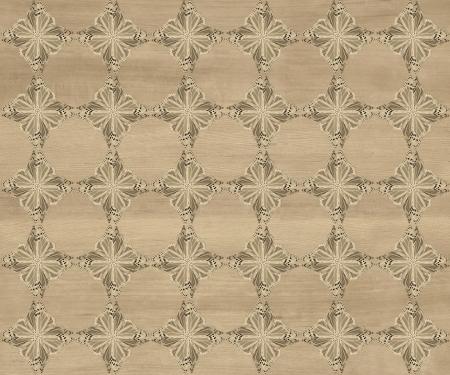 marquetry: Baldosa de madera, luz se desvaneci� con la mariposa marr�n oscuro diamante patr�n de incrustaciones de imitaci�n de madera Marqueter�a Gran dise�o de textura para el suelo, fondos de escritorio de aspecto cl�sico de Niza