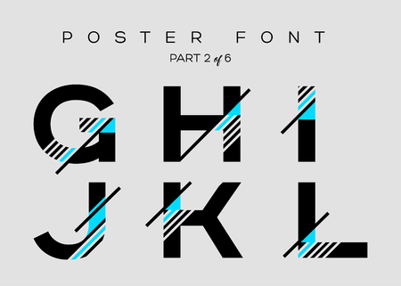 Vector Techno Font with Digital Glitch Text Effect. Minimal Geometric Typography for icon Design, Music Poster, Fashion Show, Advertising. Modern Cyber Type in Futuristic Style. Trendy Urban Typeset.