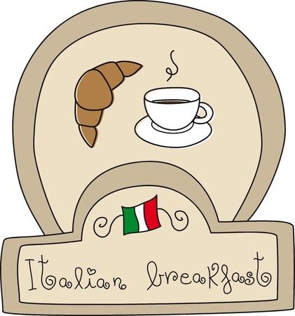 Italian Breakfast Doodle