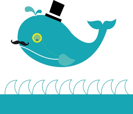 ballena azul: Señor Ballena